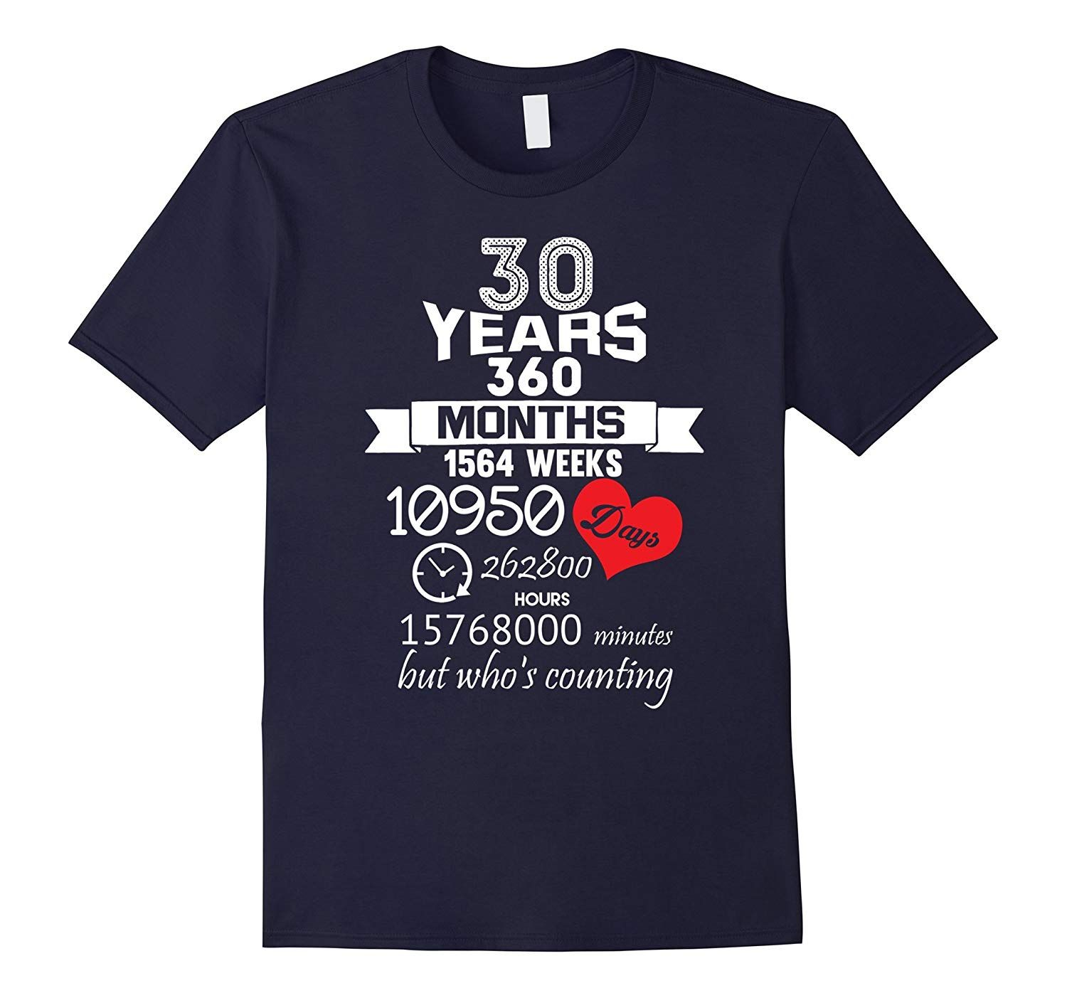 Anniversary Gift 30th 30 years Wedding Marriage ideas
