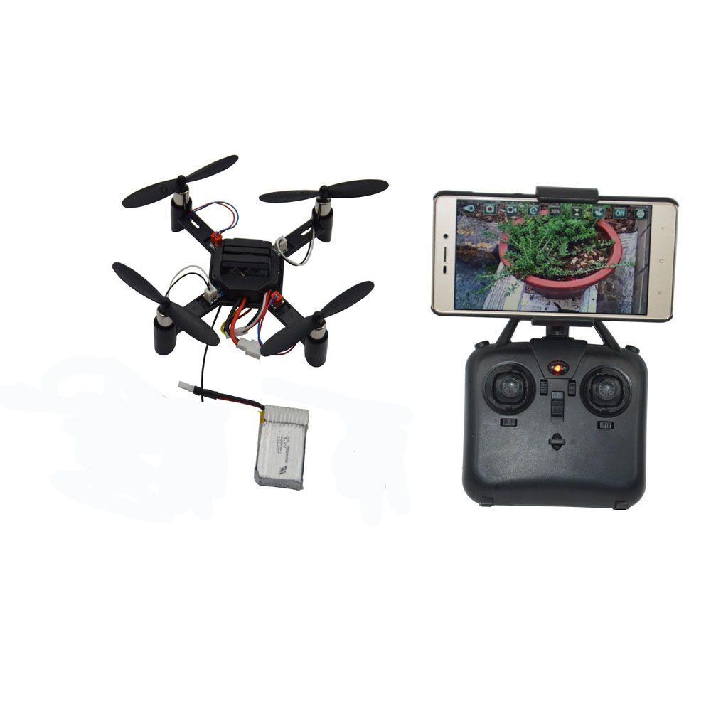 Dm002 Diy Mini Micro Fpv Quadcopter With Wifi Camera 4ch 6 Aixs Gyro Rc Quadcopter Drone Altitude Hold Headless Mode Helicopter Fpv Quadcopter Drone Quadcopter Wifi Camera