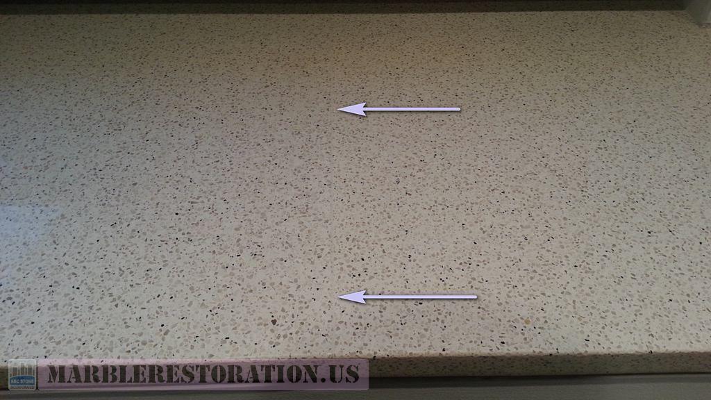 Seams Repair Caesarstone Seam Blended And Hidden Seam