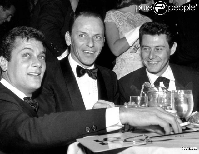 Tony Curtis Frank Sinatra Tony Curtis Eddie Fisher Sinatra