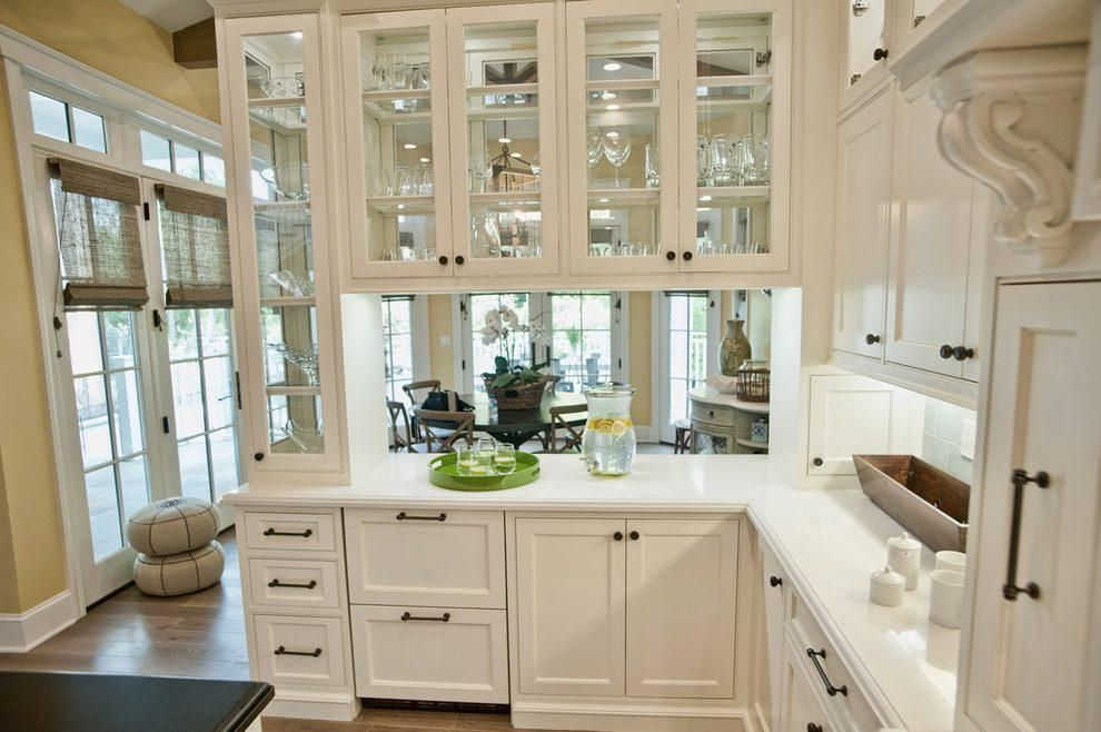 Beautiful Glass Cabinet Doors | Glass kitchen cabinet ...