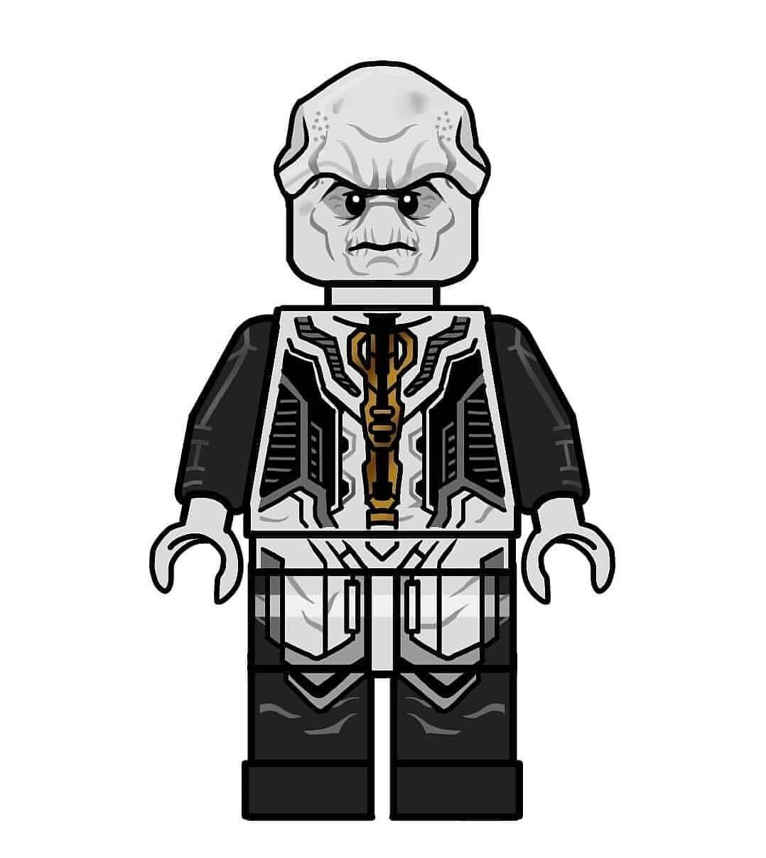 Ebony Maw Lego Custom Minifigures Lego Marvel Lego Star Wars