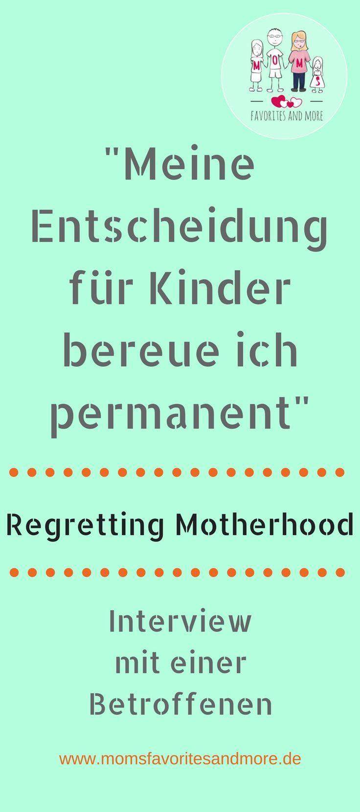 Mutterschaft Bereuen