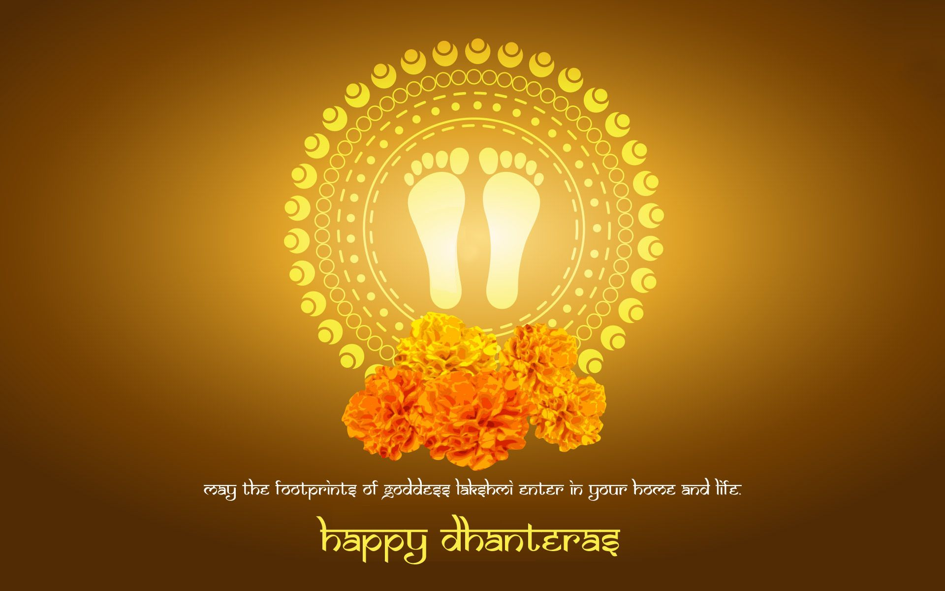 Happy Diwali And Dhanteras Wallpapers: May Dhanteras Festival Wishing You With Wealth