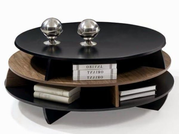 20 Creative Black Coffee Tables Made Of Wood And Glass Black