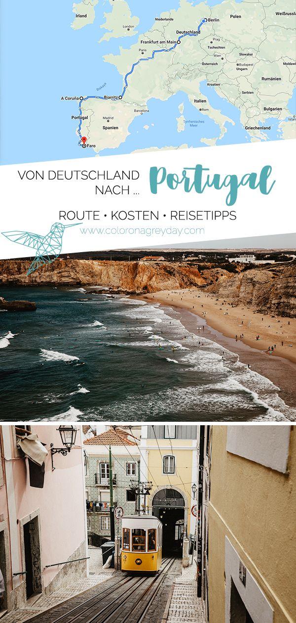 Roadtrip von Deutschland nach Portugal - Route & Kosten