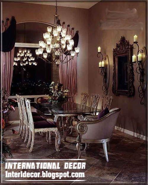 35 Luxury Dining Room Design Ideas: Luxury Italian Dining Room Furniture Ideas, Luxury