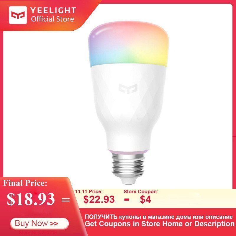 Newnew 2019 Yeelight Ampoule Led Intelligente Yldp13yl 1s 8 5w