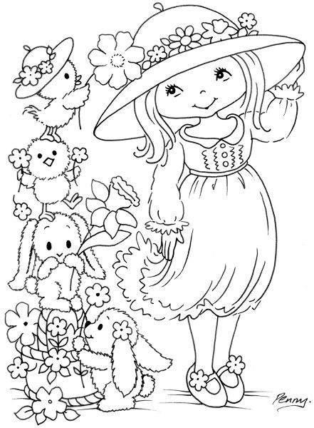 Stamps Easter Coloring Pages Coloring Pages Coloring Pictures