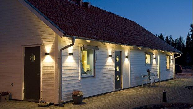 hus belysning led