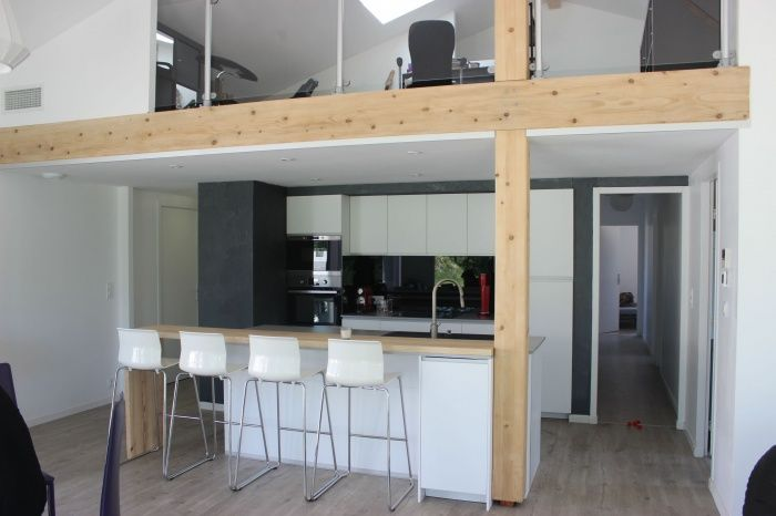 Architectes-toulouse.com - Maison contemporaine avec mezzanine et ...