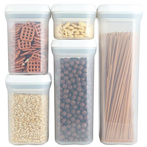 Great PERSIK Premium SPIN LOCK Airtight Sealed Food Storage