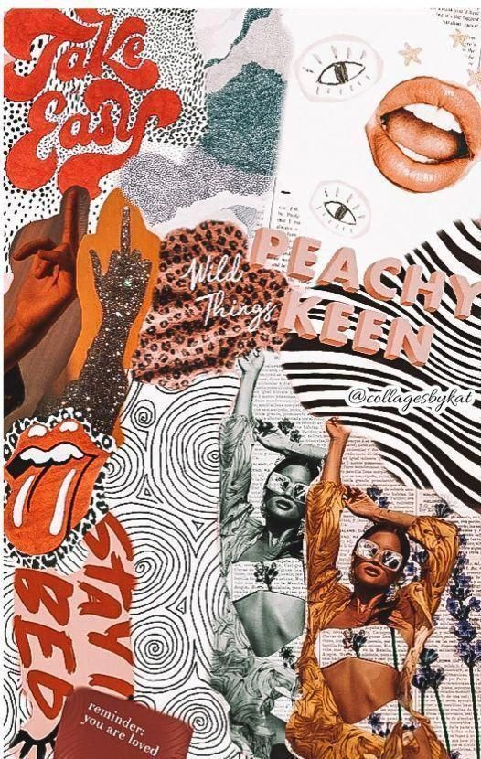 Wallpaper, Fashion poster, Digital Collages