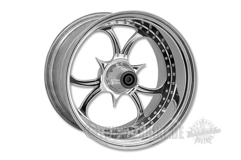 "#Thunderbike Custom Wheel ""Sting"" for #Harley-Davidson, #Suzuki & #Yamaha #motorcycles"