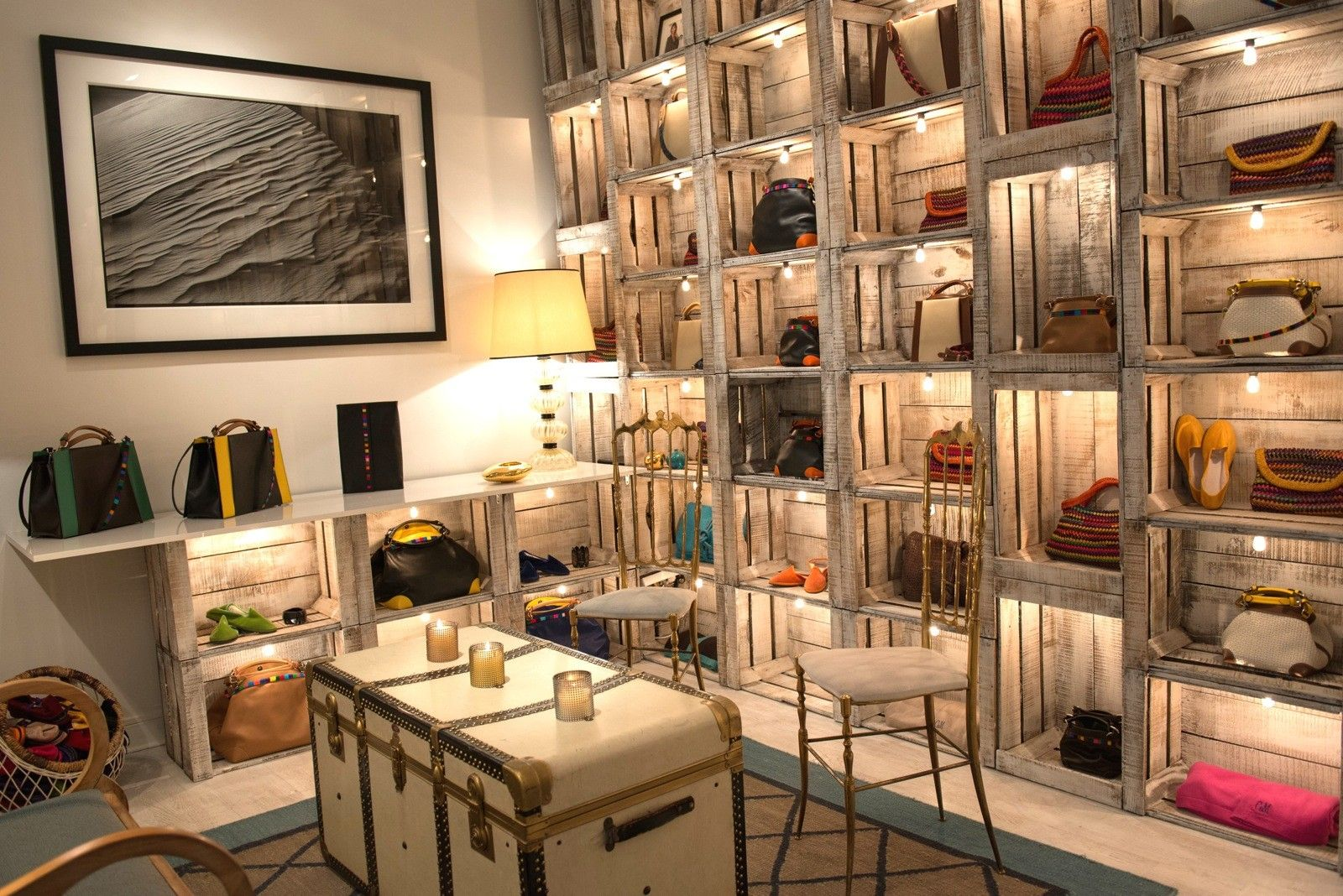 Caroline De Marchi showroom, Paris | Interiors | Pinterest ...