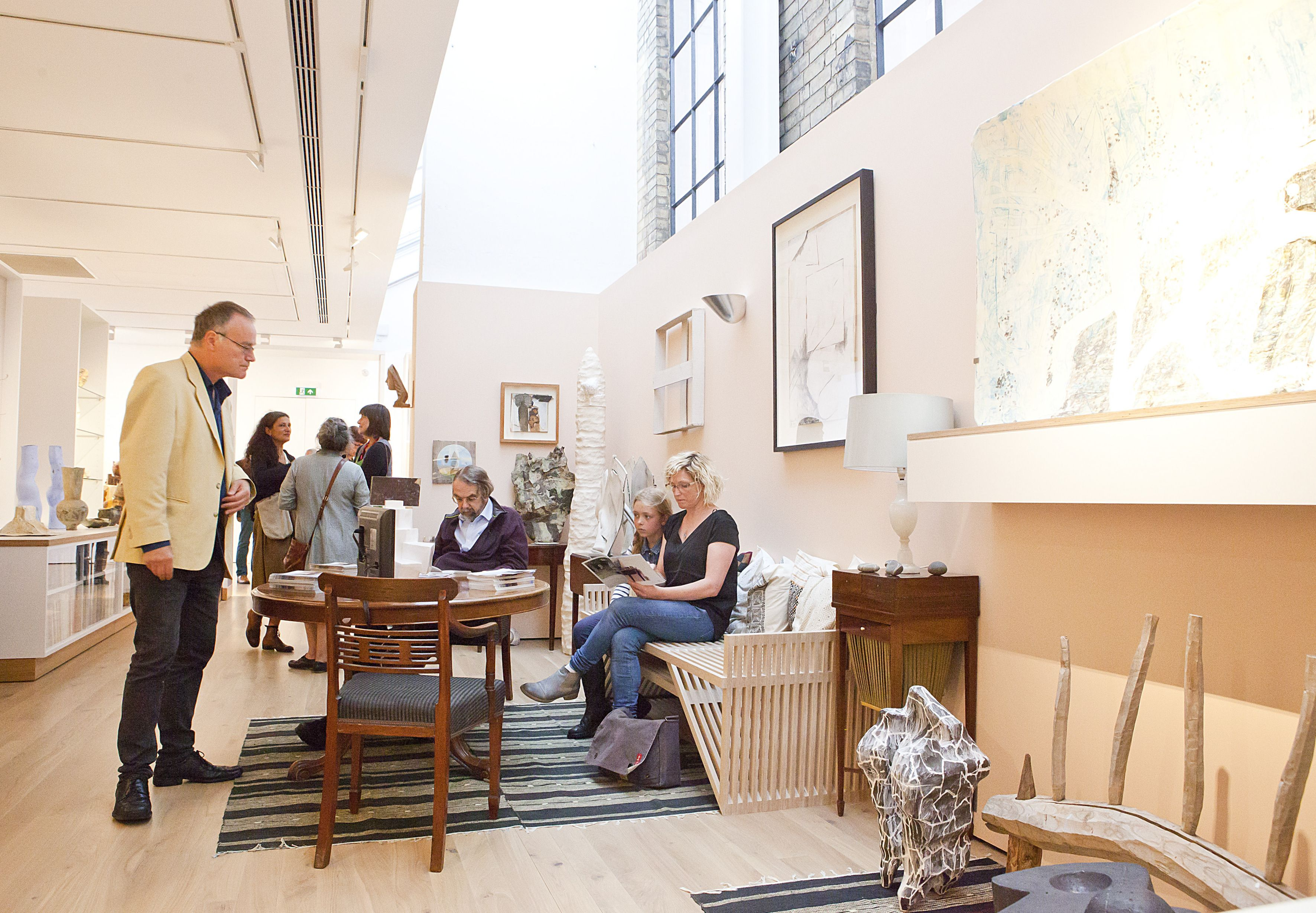 Visitors can experience what life is like in the home of a ceramics collection in the
