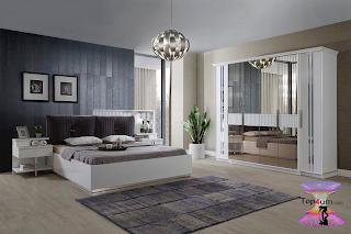 غرف نوم تركي باحدث صيحات الديكور العالمية للعرسان 2021