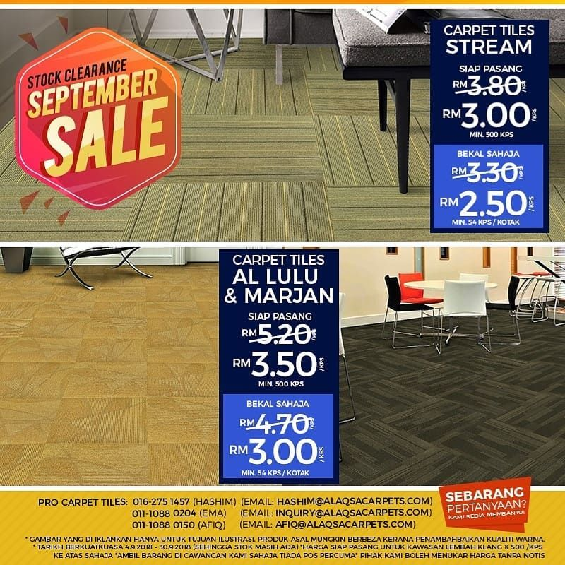 Pin by Alaqsa Carpets at DKebun Commercial Centre on Our