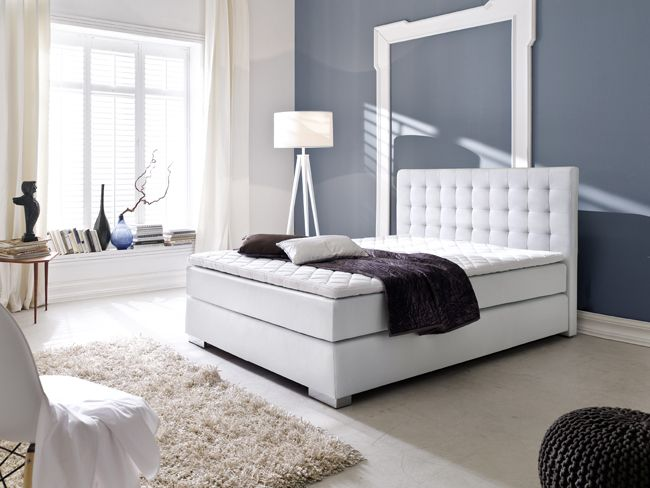 boxspringbett lisa i 4gr 3 dekore boxspringbett. Black Bedroom Furniture Sets. Home Design Ideas