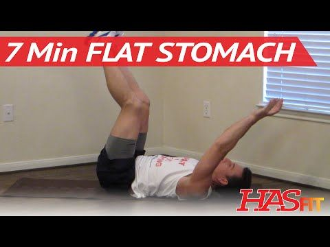 7 Minute Flat Stomach Workout - Get A Flat Stomach Exercises - Flatter Stomach Work Out