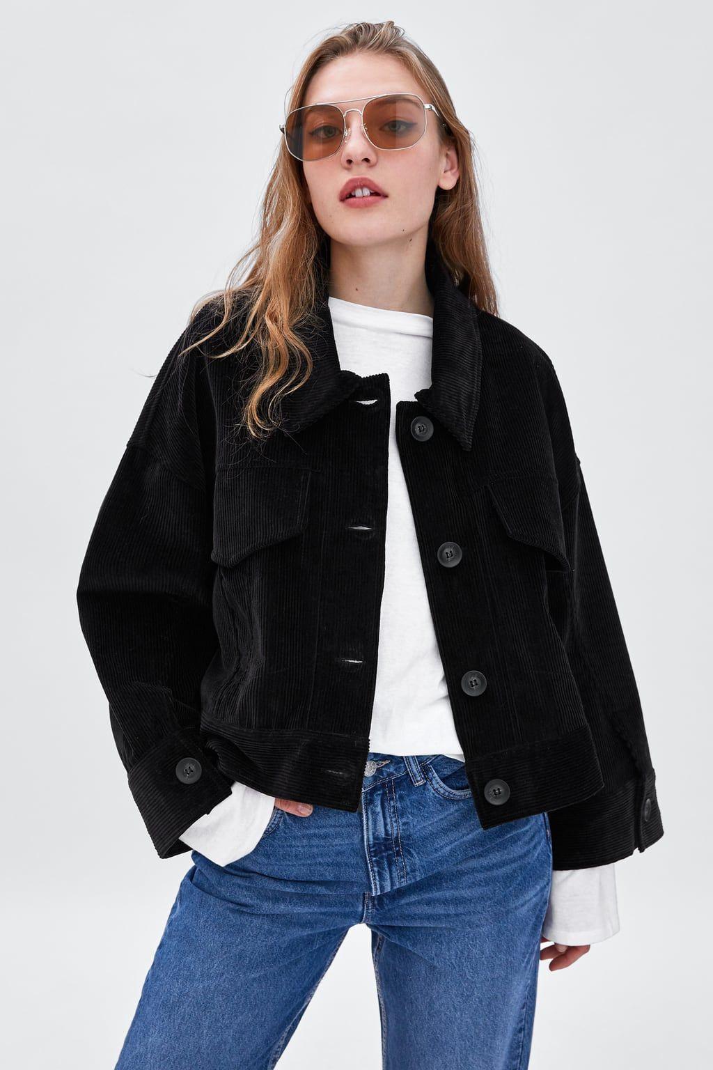 bae6594750 Corduroy jacket in 2019   The Best of Zara   Jackets, Corduroy ...