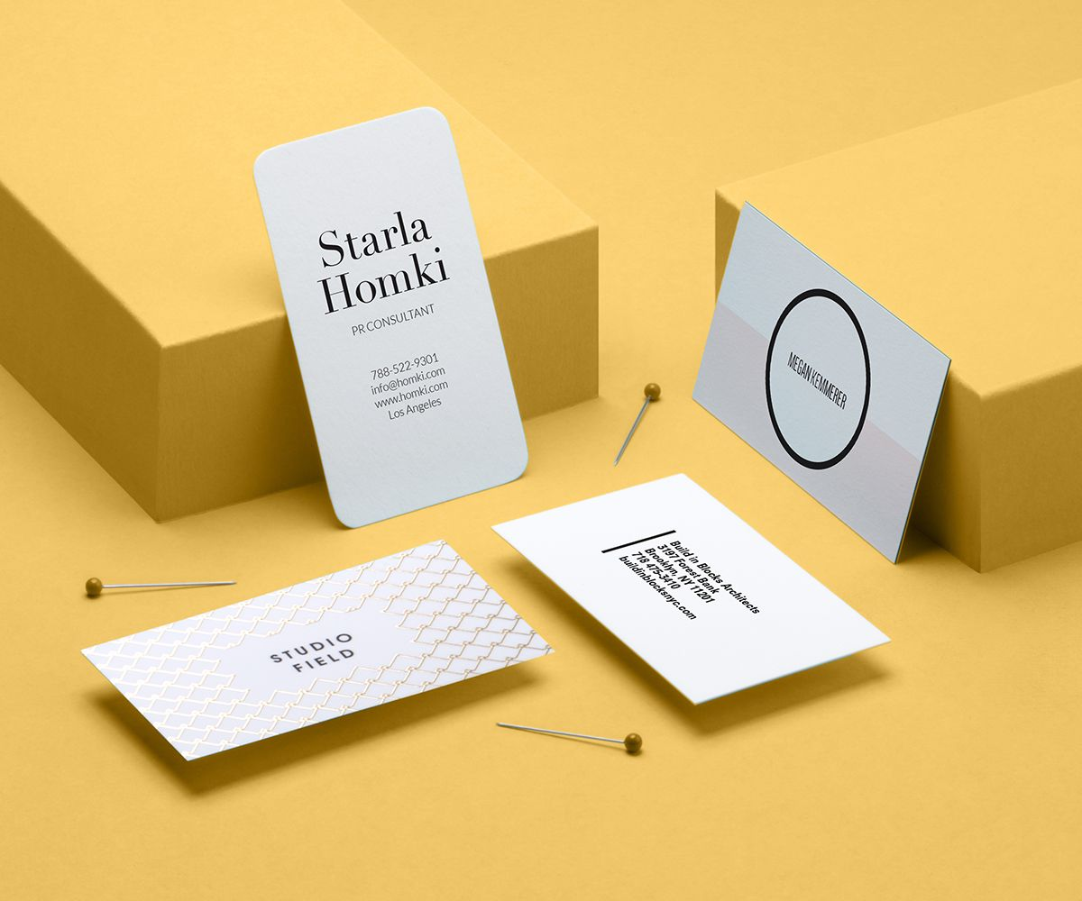 Moo gold foil and luxe business cards luxe business