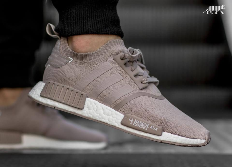 ab0285c85084 How Does The adidas NMD Runner Primeknit Vapour Grey Look On Foot ...