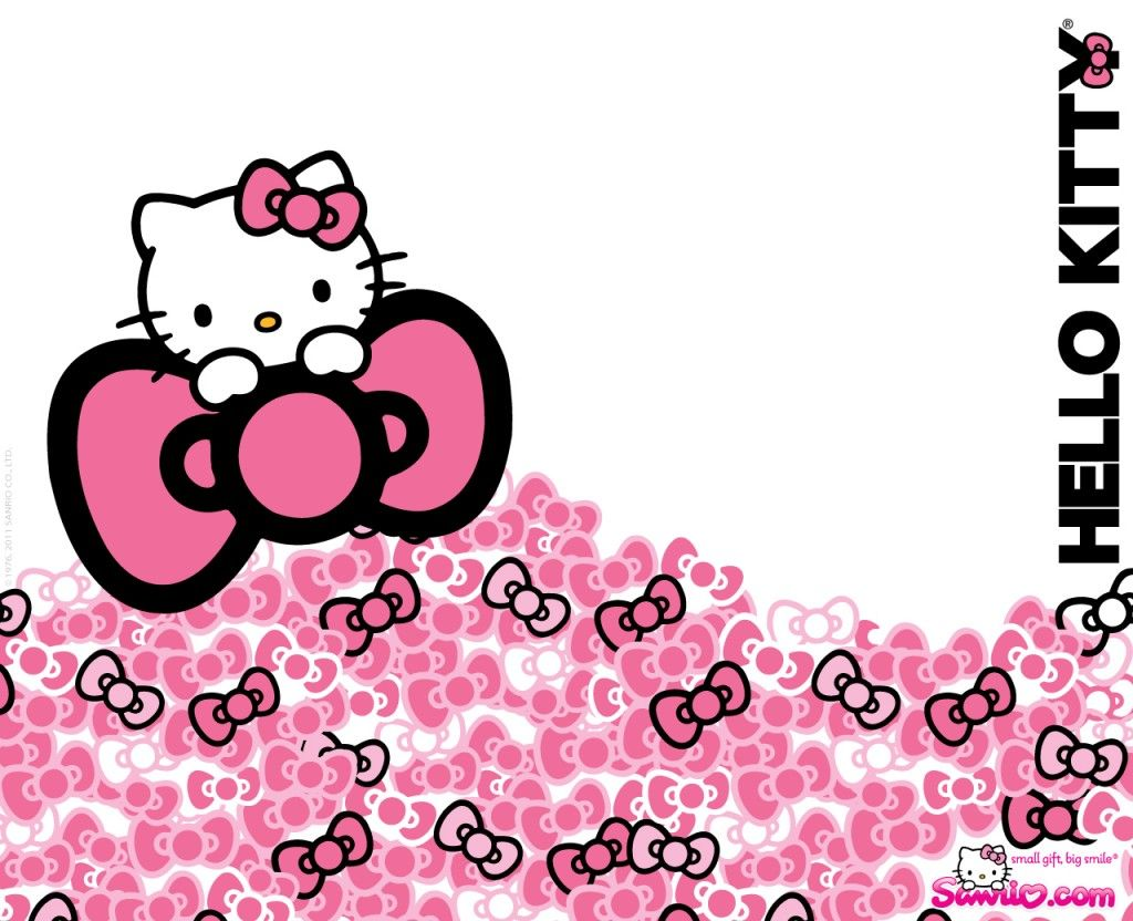 Hello Kitty Desktop Themes Download Hello Kitty Pink Ribbon