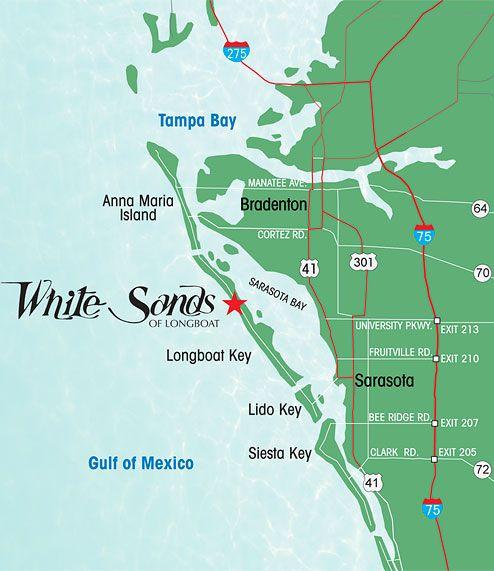 Longboat Key Map Image result for longboat key florida | Duma Key | Longboat key