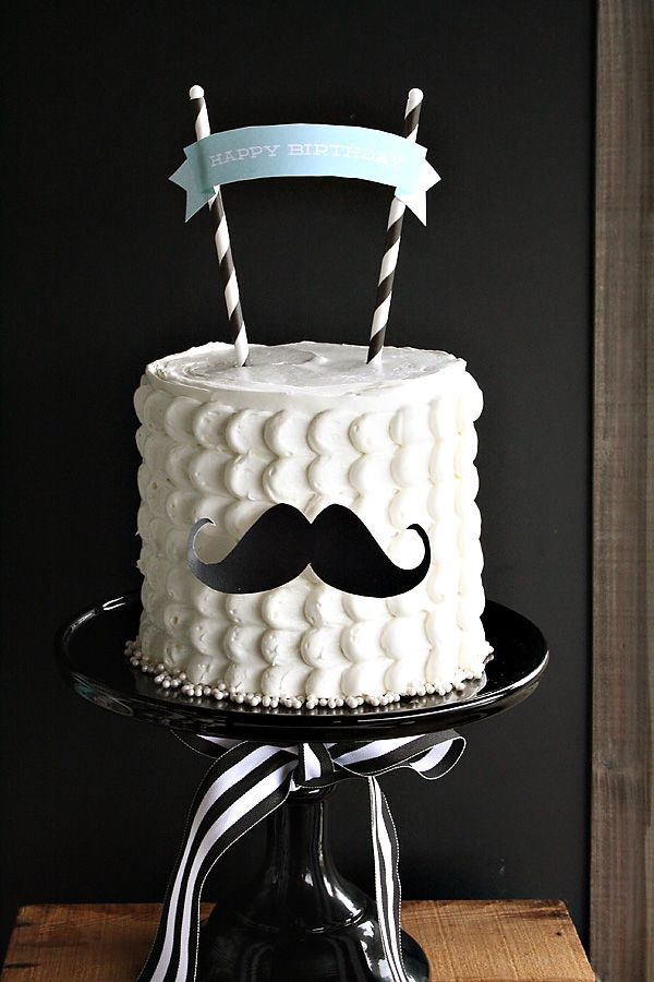 Little Mister Mustache Birthday Party Little Man Party Theme