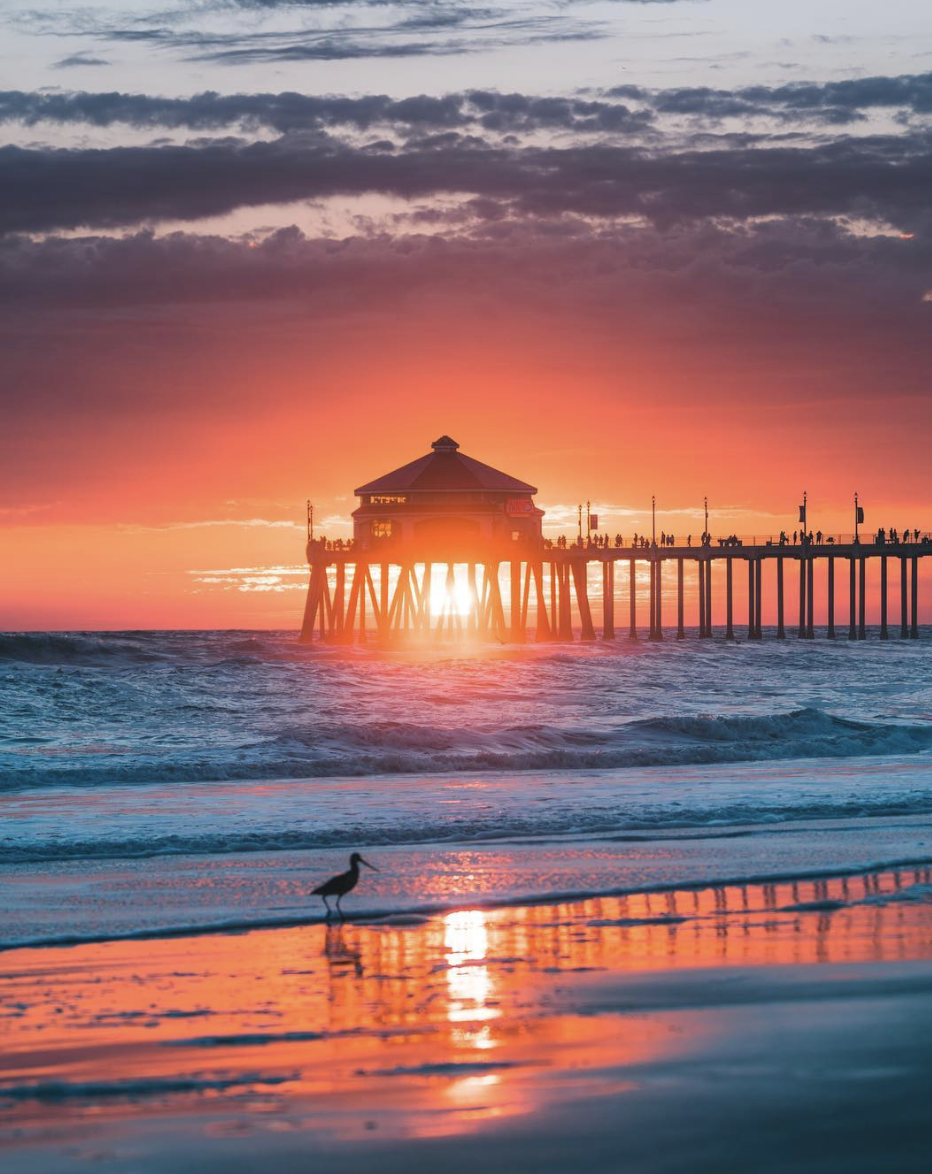 Photo Credits Derek Liang Huntington Beach Pier Huntington Beach Places Worth Visiting