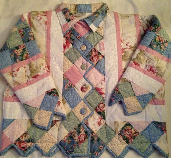handmade quilted jacket - Google Search