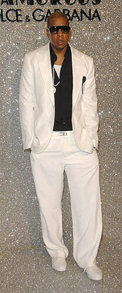 All white outifts for men are essentially 2 piece outfits or white leisure suits that men these days wear and are perfect for wearing to all white parties. These 2 .