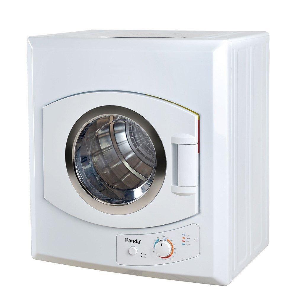 Panda 3 5 Cu Ft Compact Portable Laundry Dryer White Pan60sf