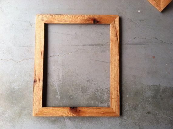 12x16 oak wood frames custom made by jonesframing on etsy - Etsy Frames