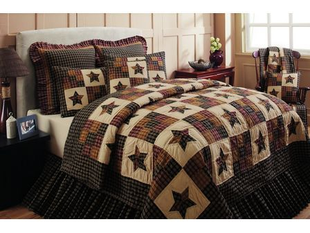 cambridge star quilt pattern | Bold star and nine-patch block ... : country style quilt patterns - Adamdwight.com