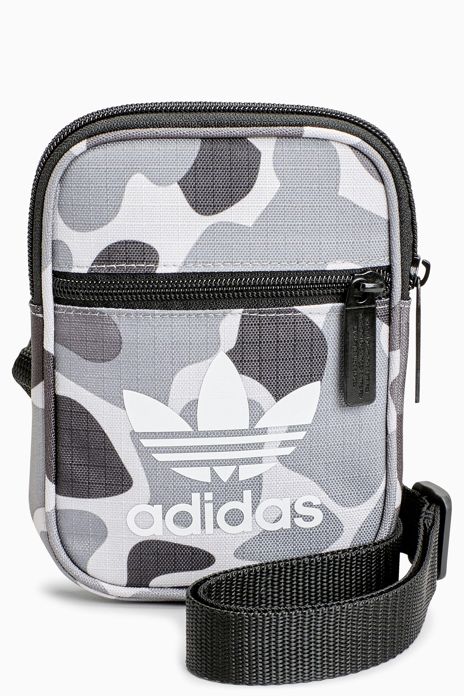 Mens adidas Originals Trefoil Festival Bag - Grey in 2019  1ebf94324bb47
