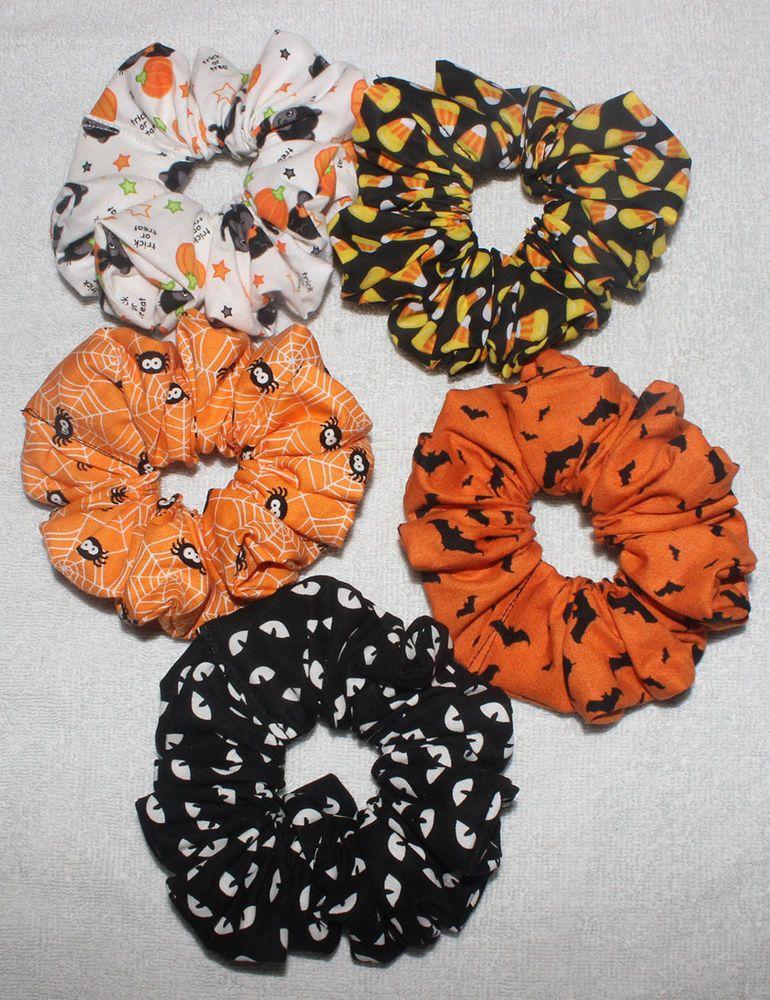 Handmade Spider Hair Scrunchie