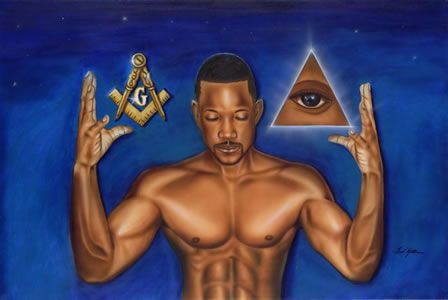 Black Masonic Art Prints Gifts Collectibles