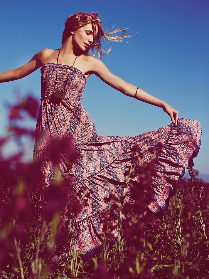 Free People, Easy Come Easy Go Dress. So comfortable & pretty for summer.