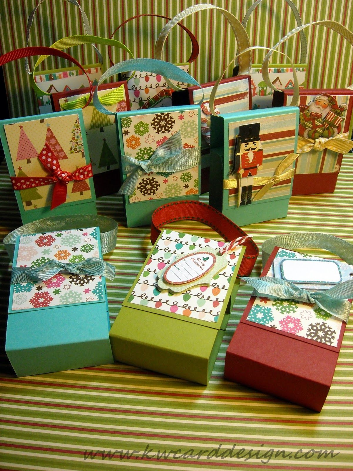 Mini Hand Sanitizer Gift Packaging By Stampin Up Paper Crafts