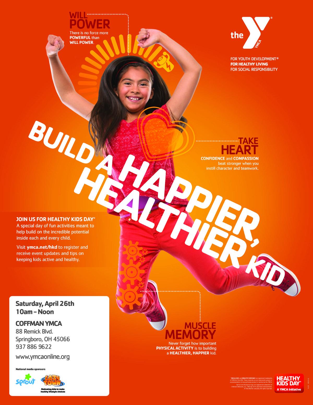 Image result for kid flyer healthy kids exercise for
