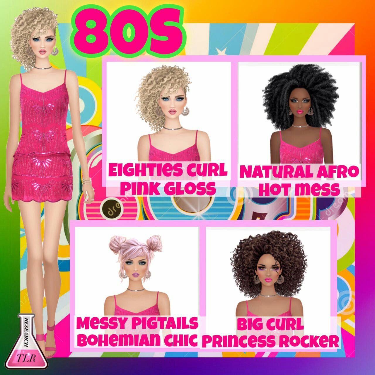 Covet Fashion Game 1980 S Hair Hairstyles 80 S Covet Fashion Covet Fashion Games Fashion Games