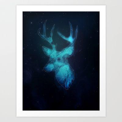 Harry Potter - Prongs Art Print by Sevillaseas - $15.60