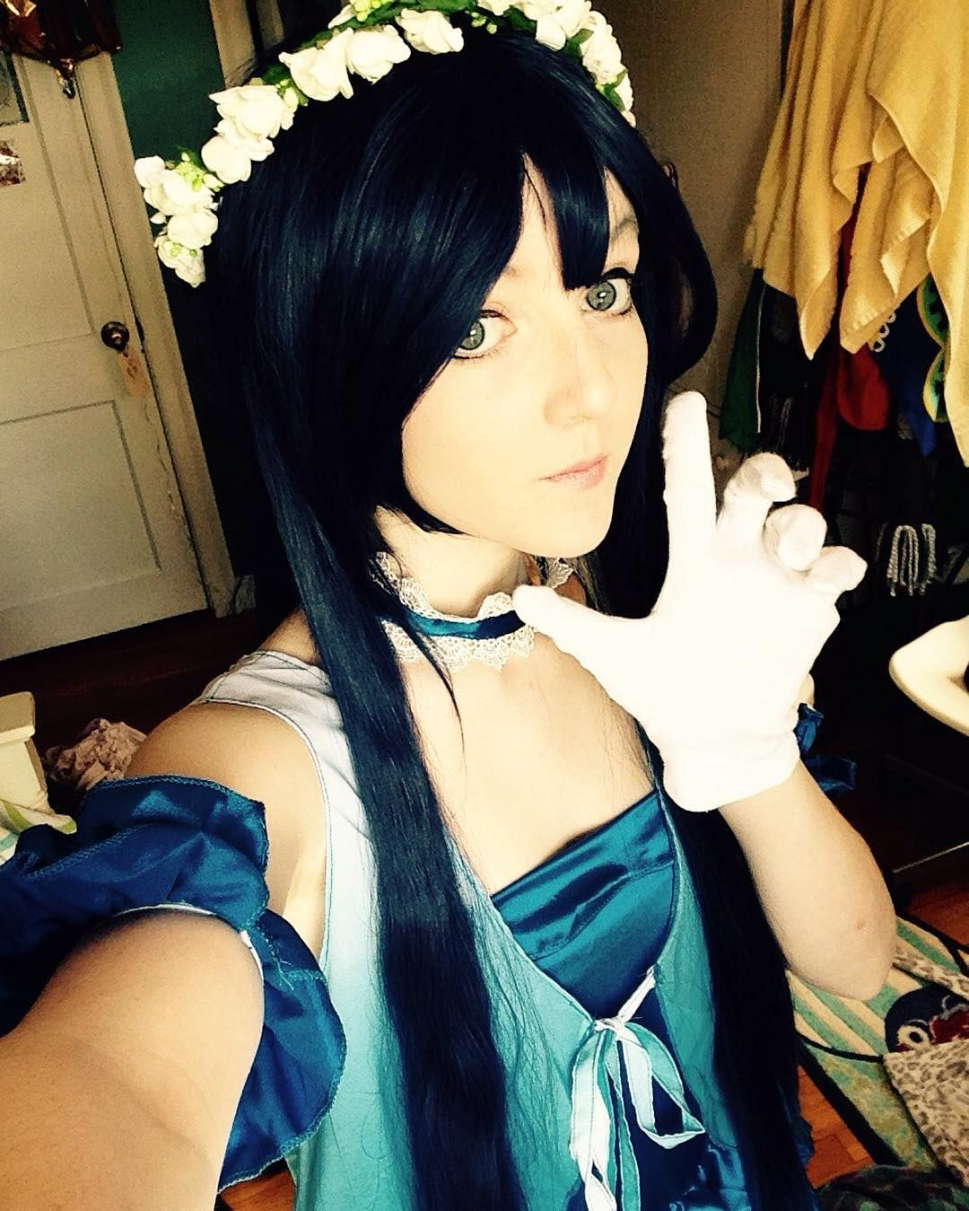 So twenty people liked the last post so at some point you'll get to see my chicken scratch..yay? - -  #cosplay #anime #animecosplay #lovelive #loveliveschoolidolproject #loveliveschoolidolfestival #umi #umisonoda #lovelivecosplay #loveliveschoolidolprojectcosplay #loveliveschoolidolfestivalcosplay #umicosplay #umisonodacosplay #manga