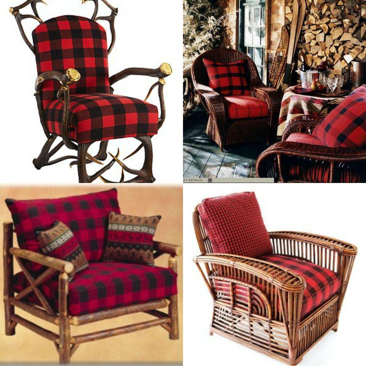 Buffalo Plaid Chairs