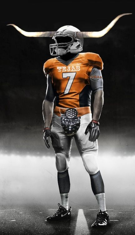 2addf7f8 Texas Longhorn Uniform Concept Designs | Football uniforms | Texas ...