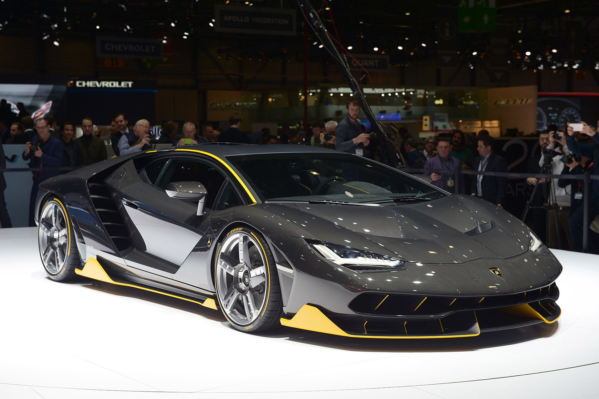 lamborghini centenario blows our minds with 760 horsepower