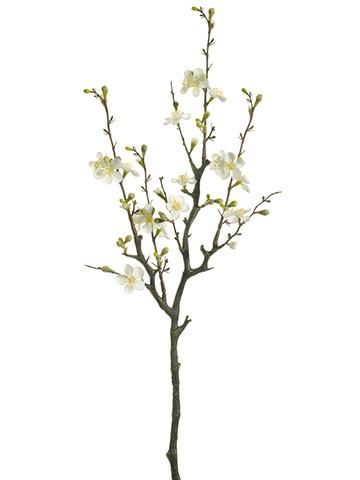 Use silk flowers to create your diy wedding centerpieces to save use silk flowers to create your diy wedding centerpieces to save time and money enjoy these charming cream quince blossom branches from afloral year junglespirit Image collections