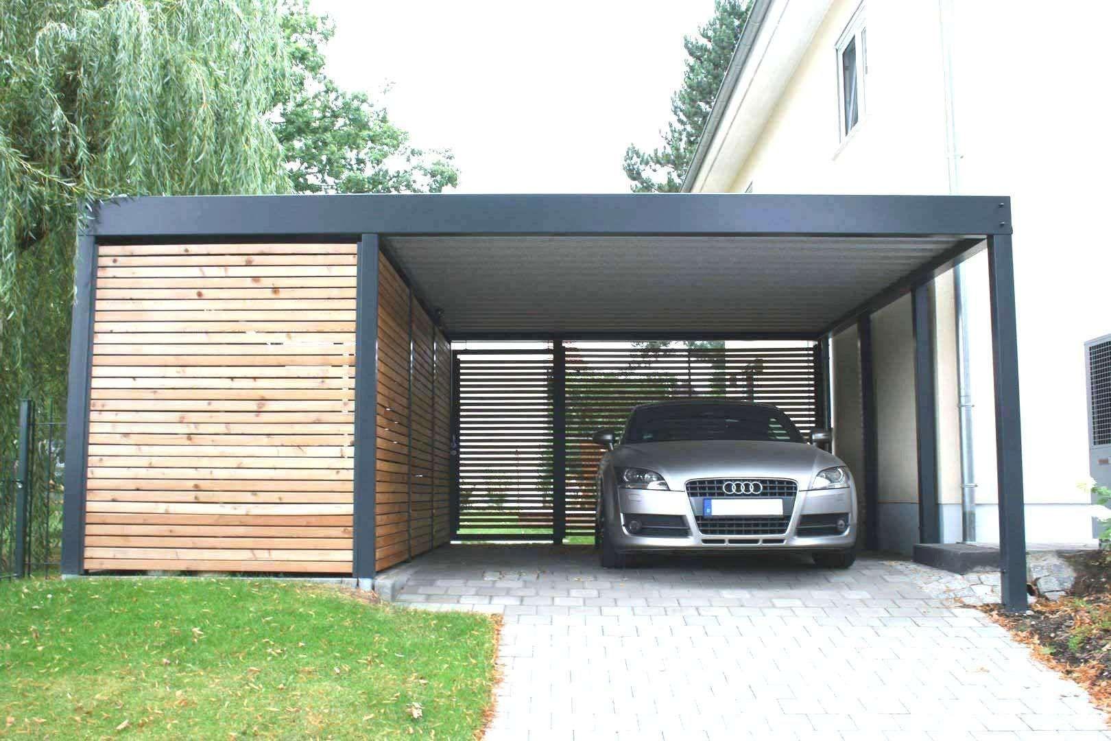 Carport With Roller Door Cost 2021 In 2020 Carport Designs Modern Garage Modern Carport